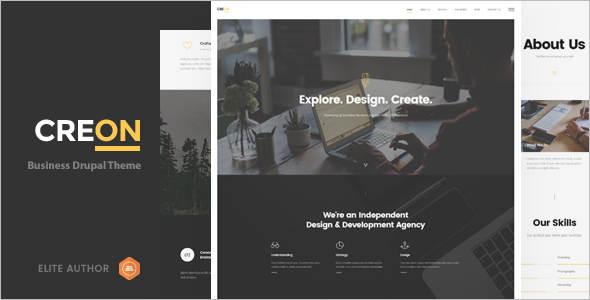 Corporate Design Studio Drupal Themes