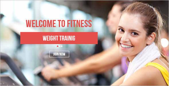 Corporate Fitness Website Template