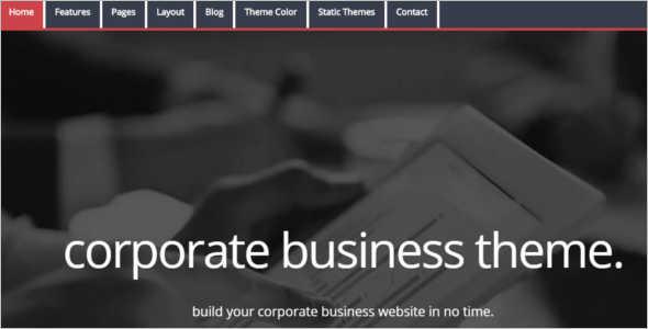 Corporate MODX Template