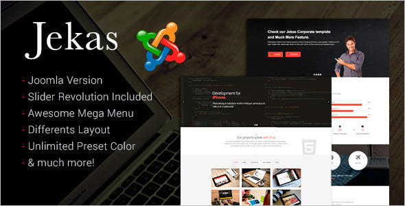 Corporate Professional Joomla Template