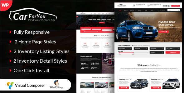 Corporate Retail WordPress Theme