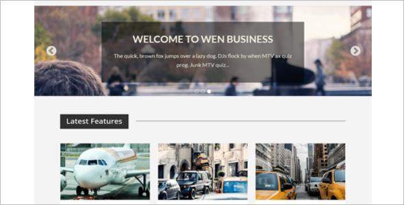 Corporate WordPress Template-Free