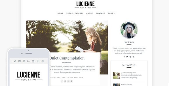 Coupon Blog WordPress Template