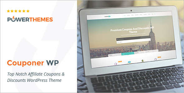 Coupons & Discounts WordPress Template
