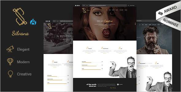Creative Agency Drupal Template