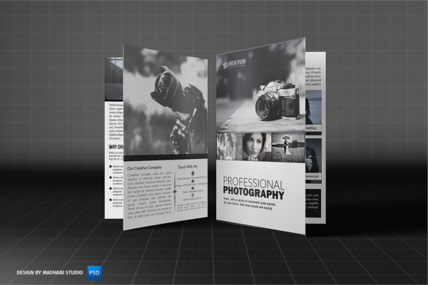 Creative Art Photography Brochures