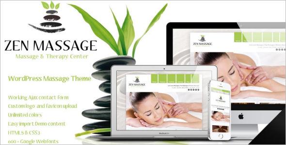 Creative Massage Salon Template