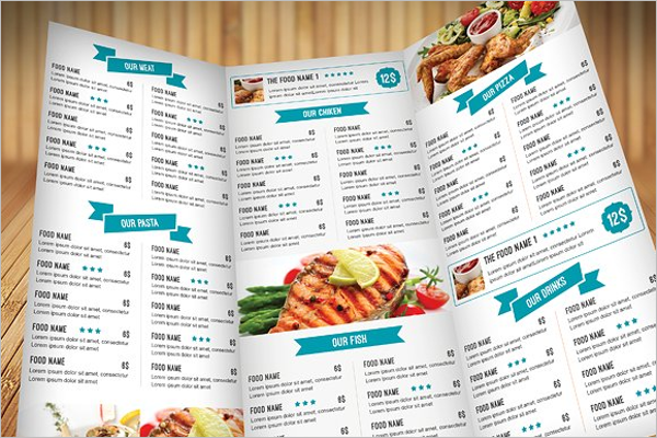 Creative Menu Food Flyer