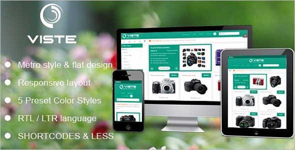 Creative Metro Style Mobile Template