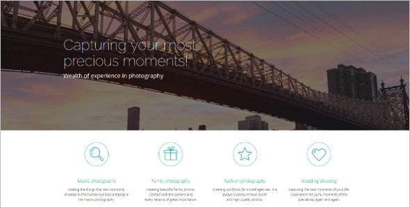 Creative Photo Gallery Bootstrap Templates