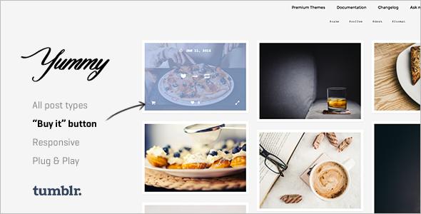 Creative Photography Tumblr Theme