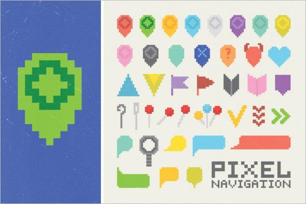 Creative Pixel Art Template