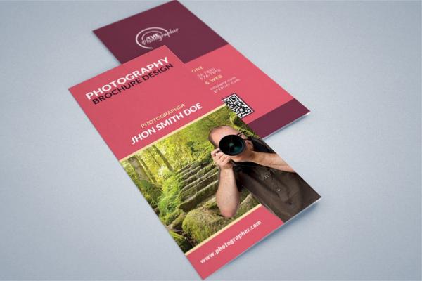 Creative Portpolio Photography Brochure