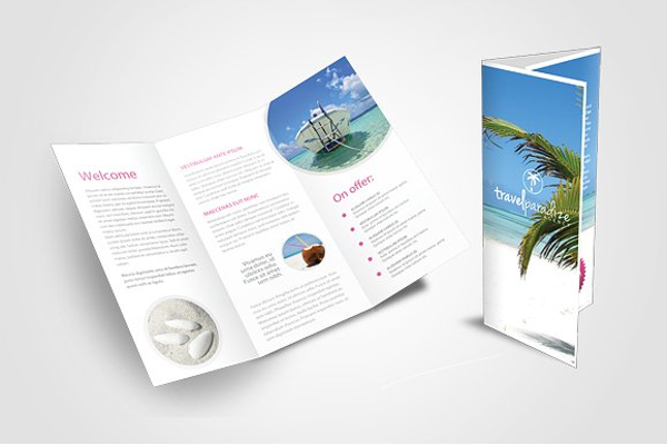 Creative Travel Agency Brochures