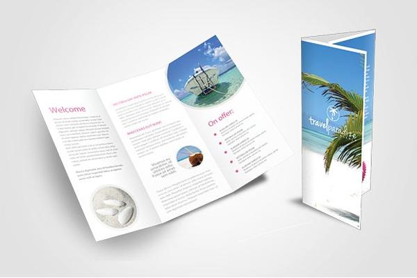 Creative Travel Agency Brochures