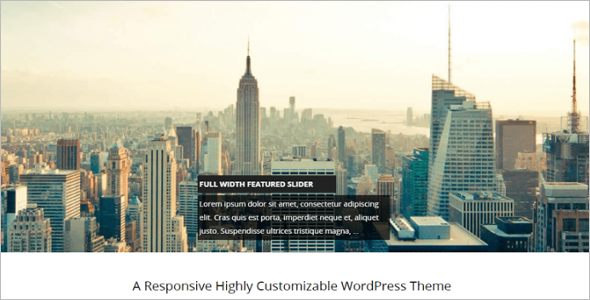 Customizable WordPress Theme-Free