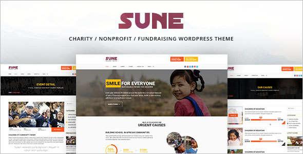 Customize Fundraising WordPress Theme