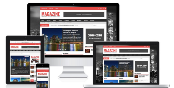 Customize Mobile WordPress Template