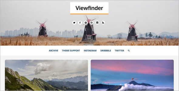 Customize Photography Tumblr Theme