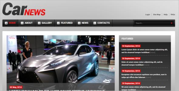 Customize Racing Joomla Template