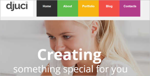 Customize Studio Website Template
