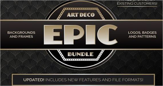Deco Graphics Game Design Assets Template