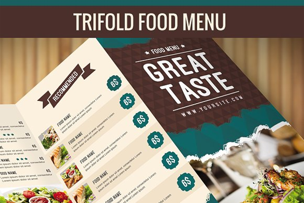 Delicious Menu Flyer Design