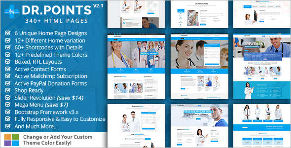 Dental Health Bootstrap template