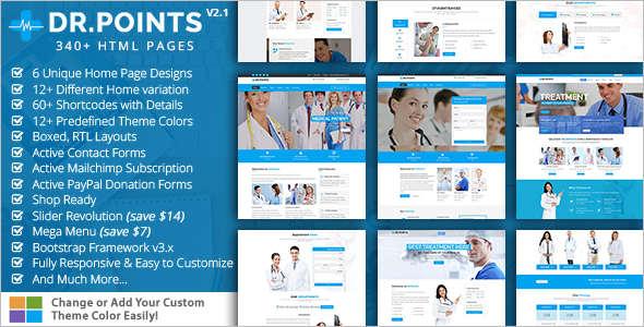 Dental Health Bootstrap template