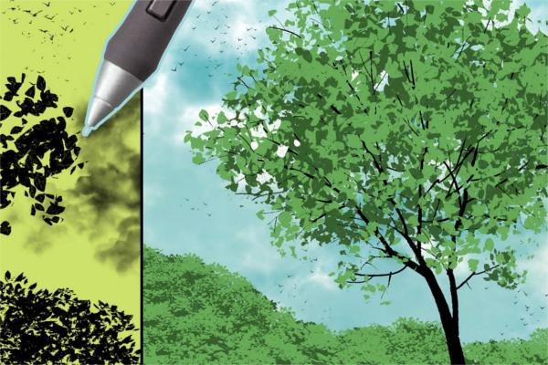 Digital Cloud Painting Brushes Outlook
