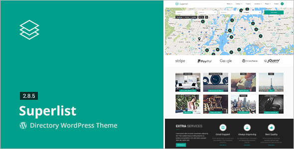 Directory & Listings Coupon WordPress Template
