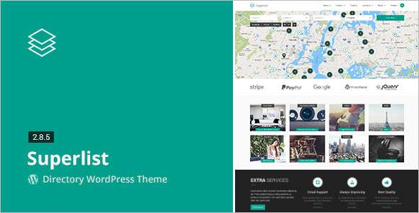 Directory & Listings Coupon WordPress Template