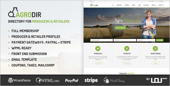 Directory Retail WordPress Theme