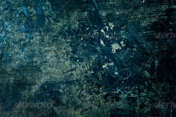Distressed Background Blue Texture