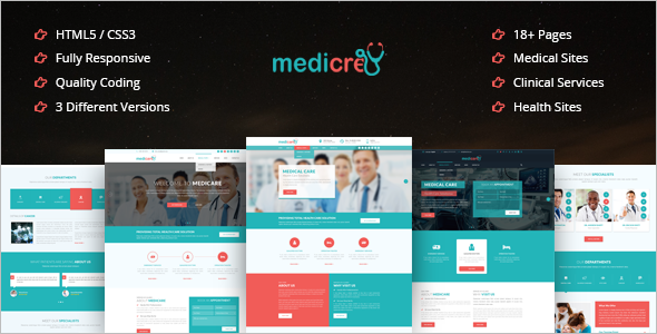 Doctor Bootstrap template