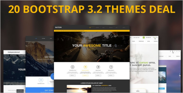 Download Portfilio Bootstrap Template