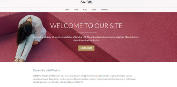 Download Weebly Themes