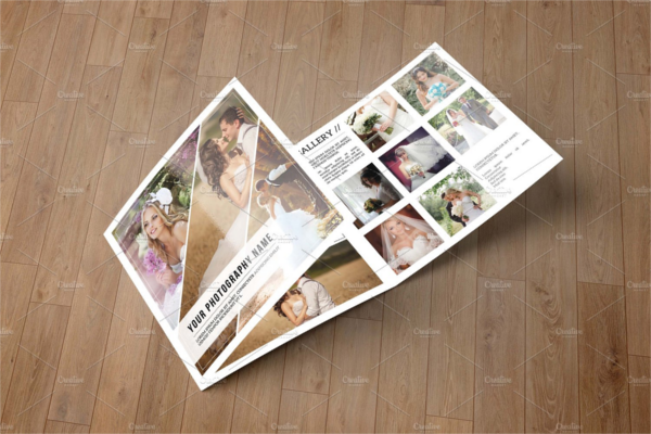 Downloadable Photography Brochure Design