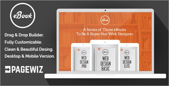 E-Book Pagewiz LandingPage Template