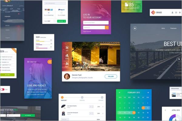 E-Commerce Dashboard UI Kit