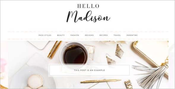 E-Commerce WordPress Theme Design