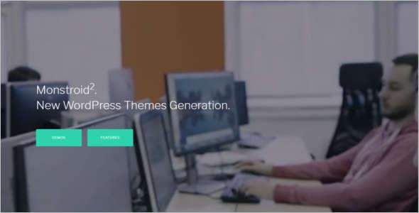 E-Commerce WordPress Theme Model