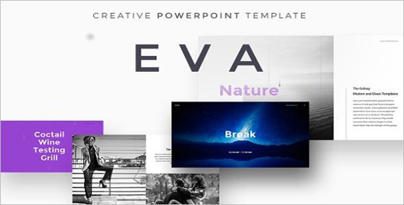 EVA Latest Infographic PowerPoint Template