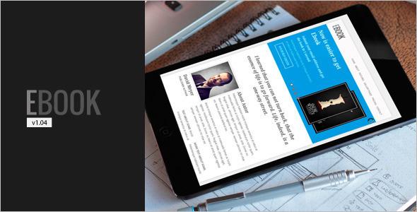 Ebook Css3 Landing Pag Template