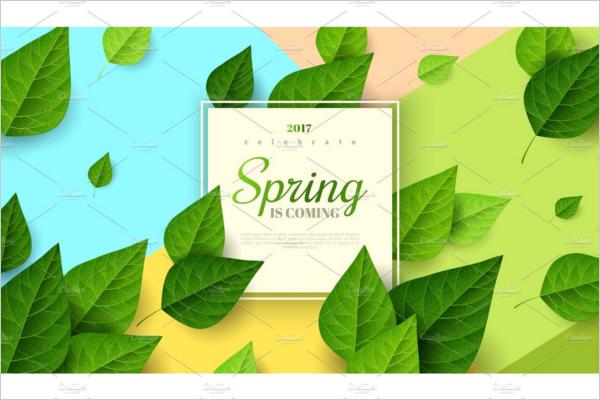 Ecological Horizontal Banner Design