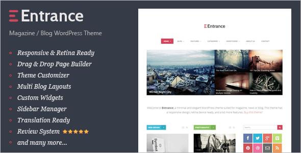 Editorial Review WordPress Theme
