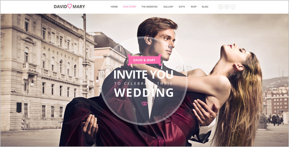 Elegan Wedding Blog Template