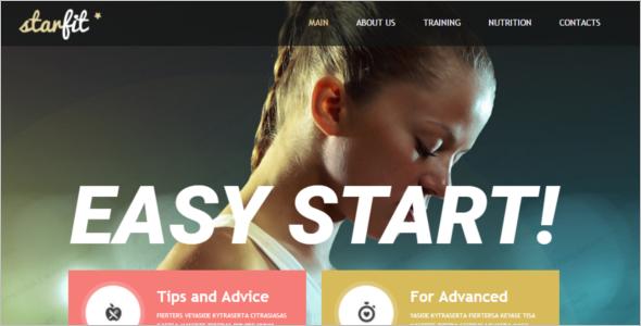 Eleganbt Fitness Website Template
