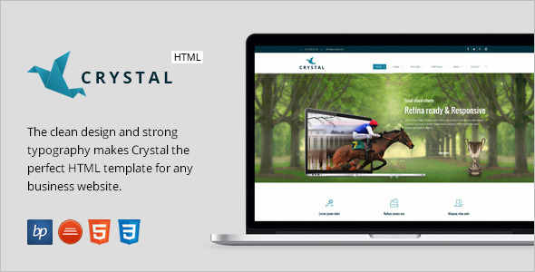 Elegant Business HTML5 Template