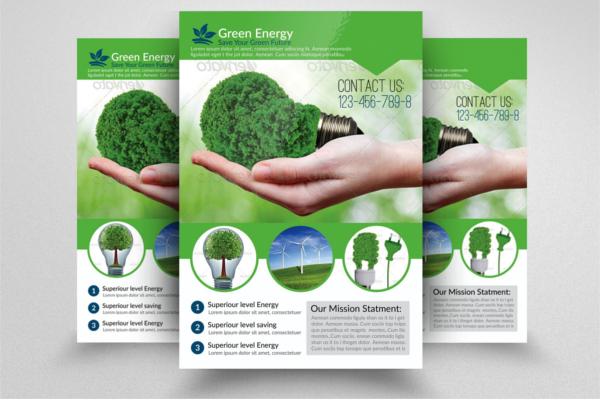 Elegant Creative Environmental Brochure